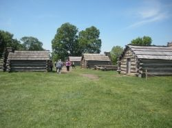 Muhlenburg Brigade Huts Valley Forge