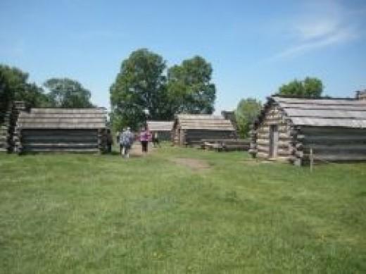Muhlenburg Brigade Huts Valley Forge
