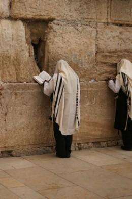 Jewish Priesthood reading Torah Western Wall