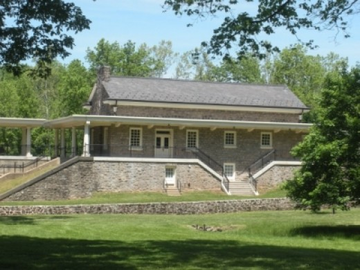 Valley Forge's Former Train Station