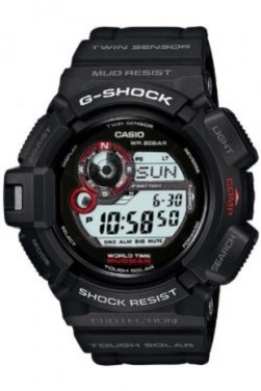 G-Shock Mudman - Popular with Military personnel