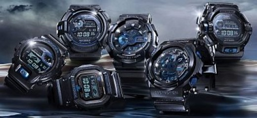 G-Shock Initial Blue Collection 2013