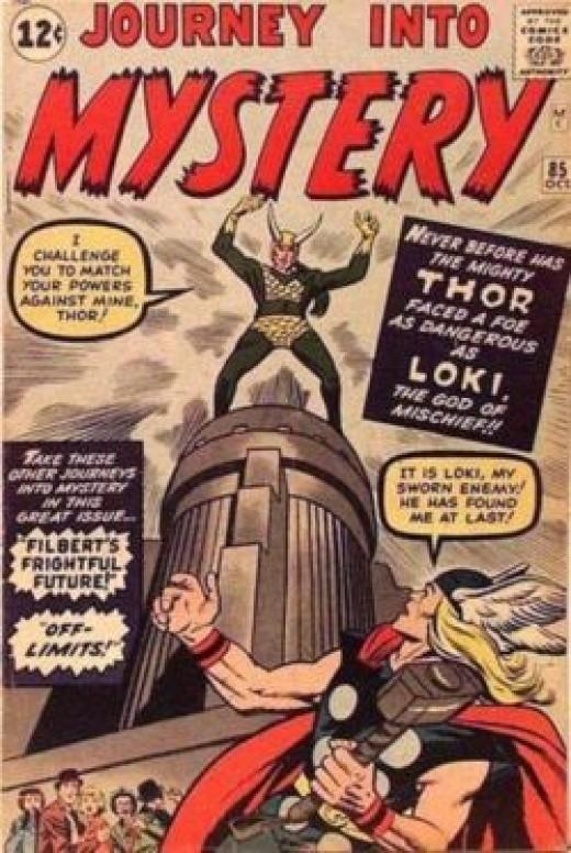 Thor Loki Journey into Mystery 85