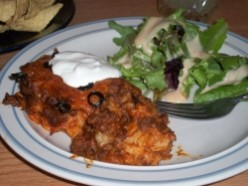 Make Enchilada Casserole