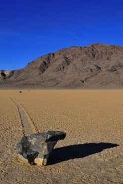Moving Rocks of Racetrack Playa