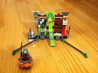 Lego Ninjago 9558 Kendo Kai Training Set and Spinner