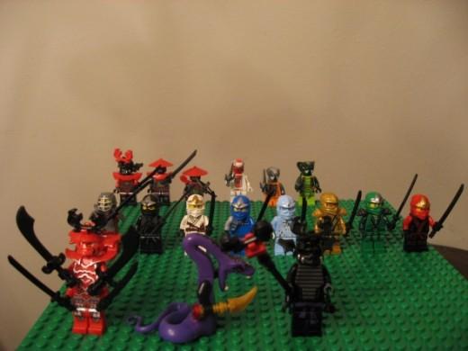 Huge Lot of Lego Ninjago