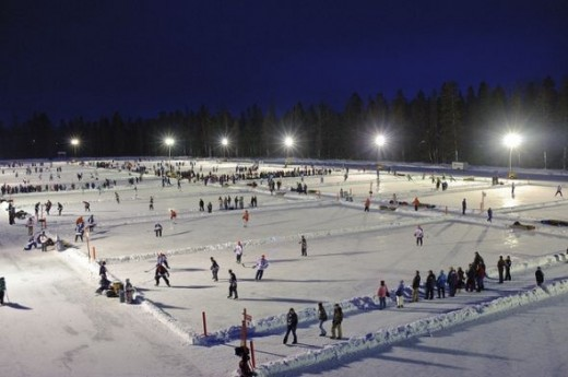 World Pond Hockey Championships - Championnat mondial de hockey sur tang by New Brunswick Tourism - Tourisme Nouveau-Brunswick, on Flickr