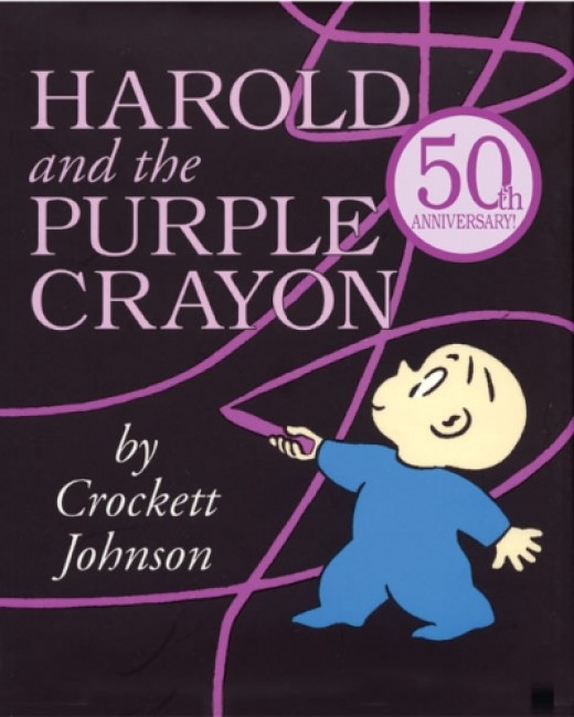 Harold and the Purple Crayon 50th Anniversary