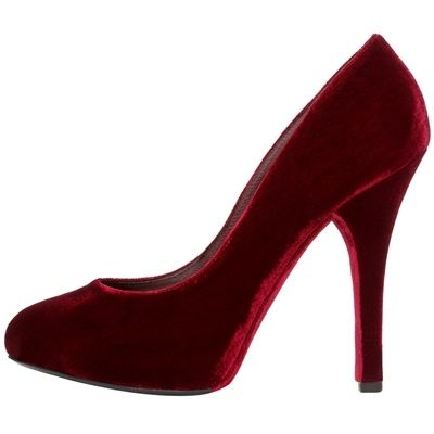 The Biggest Trend In Women's Evening Formal Footwear For Fall/Winter - Velvet!