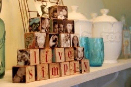 Photo Block Craft Project Idea