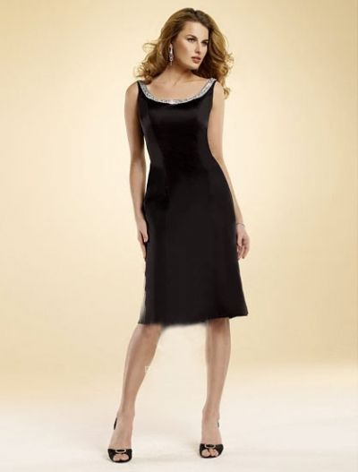 You can't ever go wrong with a classic little black dress....