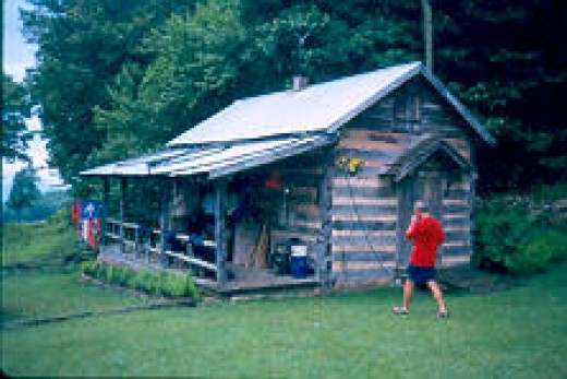 The bunkhouse at Wood's Hole: a homey place for a rest