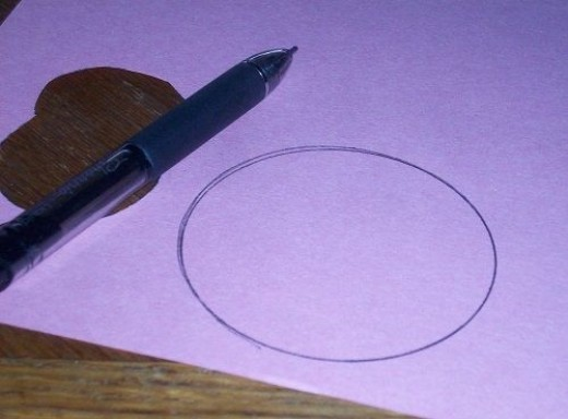 Trace Circles for Valentine