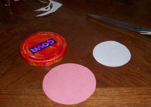 Paper Circles Cut Out