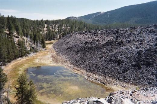 Obsidian Flow by glennwilliamspdx