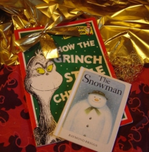 The Grinch and The Snowman are two of our favourite Christmas Stories