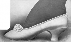 The shoe illustrated, by Mme Cleta, dates from 1905