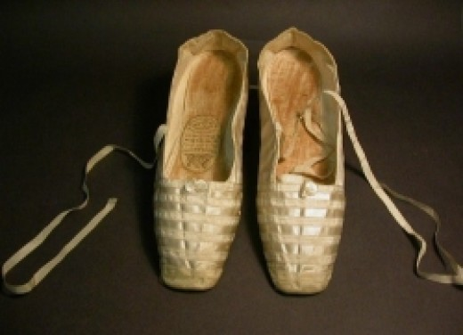 Queen Victoria's wedding shoes