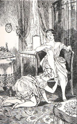 La Comtesse au fouet,