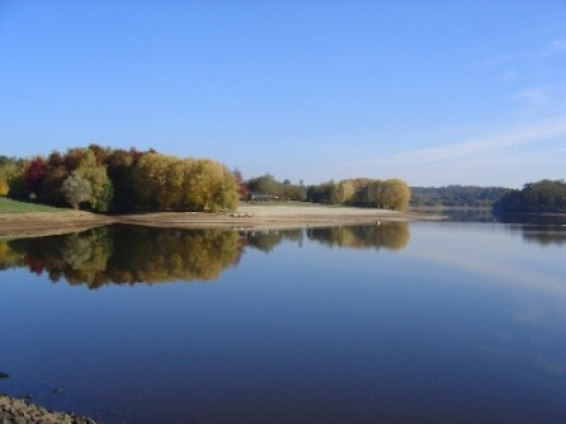 Videix Lake is Lovely in the Autumn