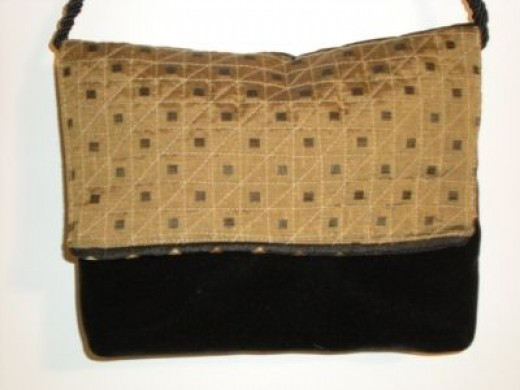 Handquited Evening Bag