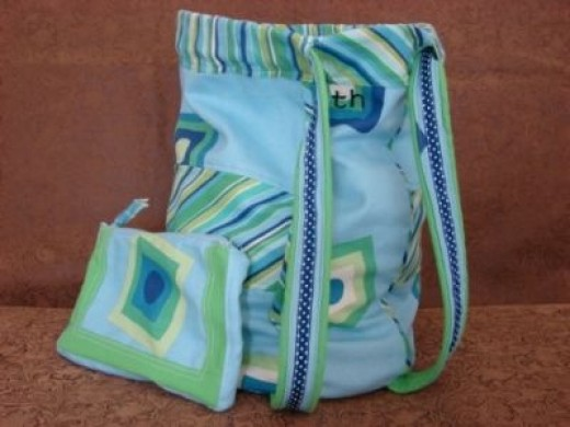 Diaper Duffle Bag