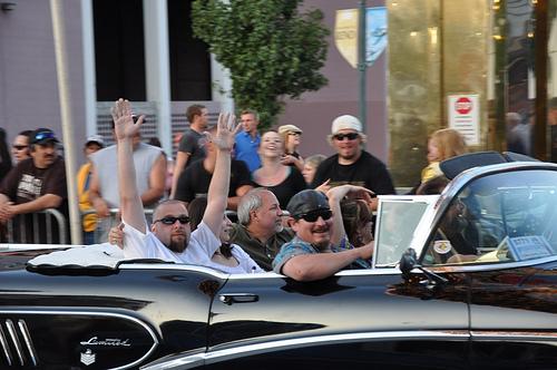Cruising down Virginia St in Reno, Nevada