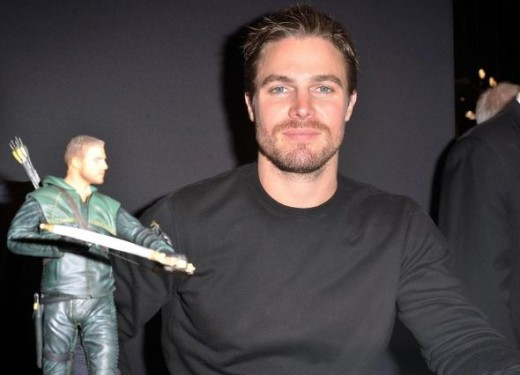 Arrow the man & figurine
