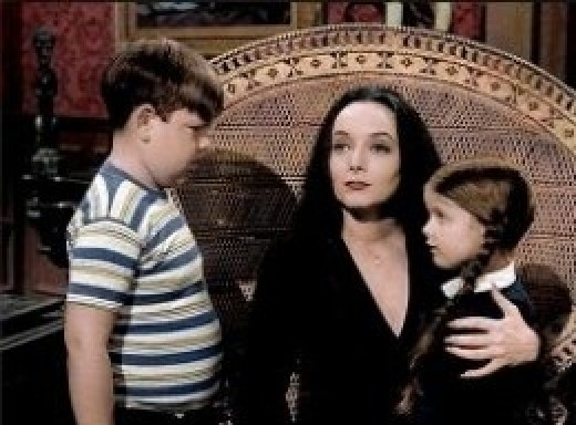 Pugsley and Wednesday Addams