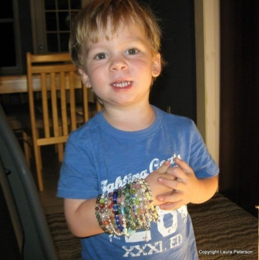 My Littlest and His Bracelets