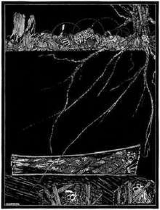 Illustration from Poe's short story