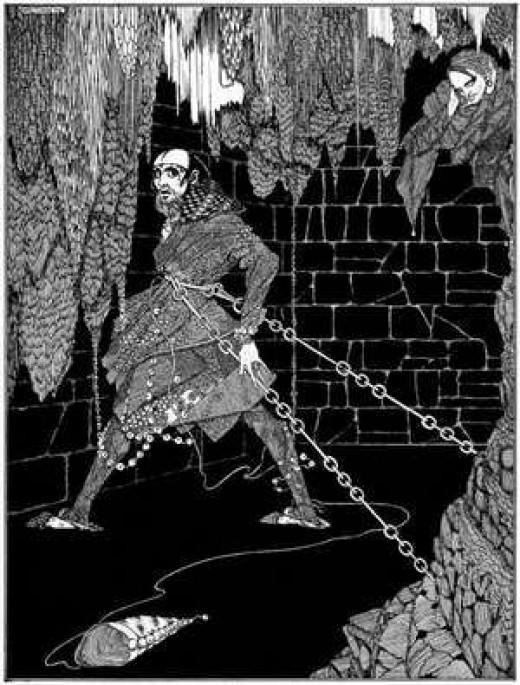 Cask of Amontillado by Harry Clarke