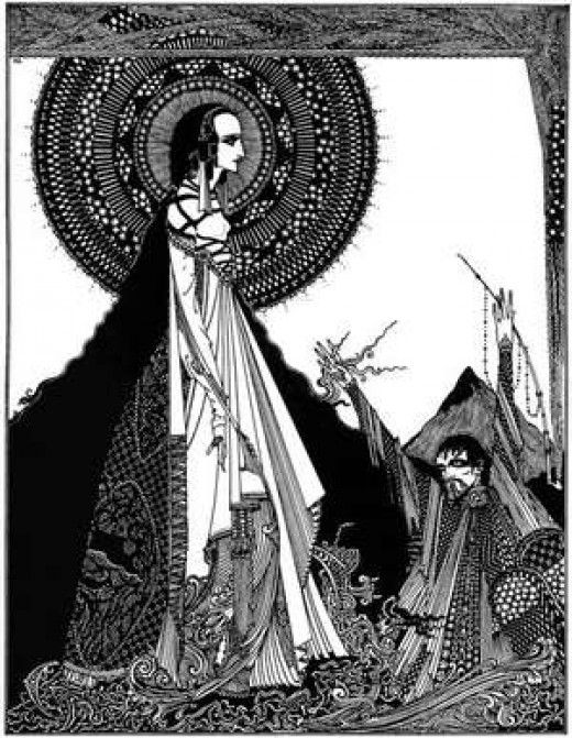 Ligeia illustrated by Harry Clarke