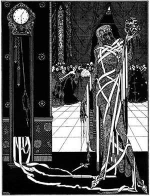 Masque of the Red Death by Edgar Alan Poe, illustration by Harry Clarke