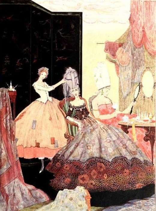 Perrault's Cinderella, illustration: Harry Clarke