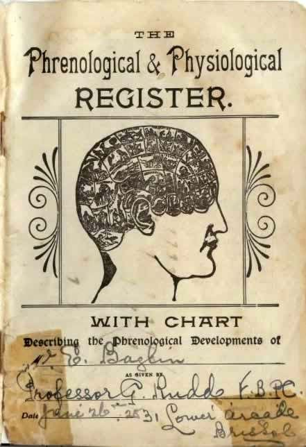 Phrenology book by Prof Rudd
