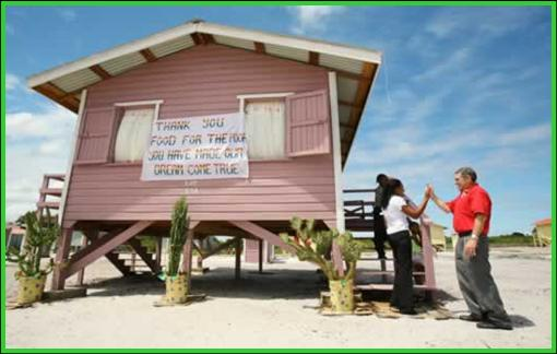 Luke 6:48 He is like a man building a house, who dug down deep and laid the foundation on rock.