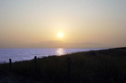 Saint Jean De Mont Sunset