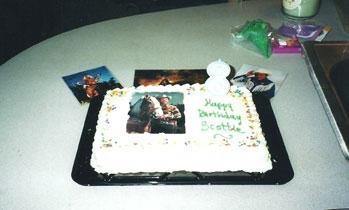 Scottie's Roy Rogers Birthday Cake