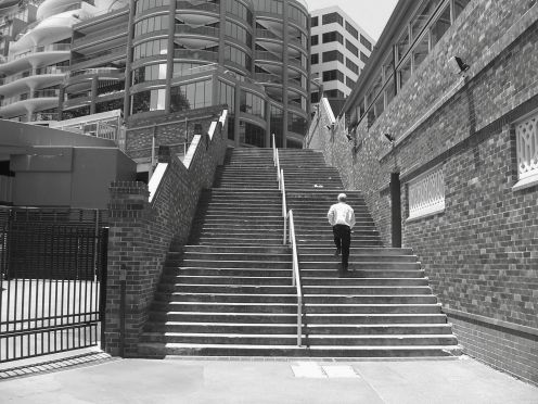 Steps at North Sydney
