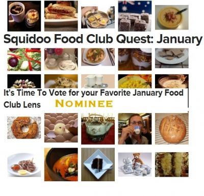 January Food quest nominee FAVORITE