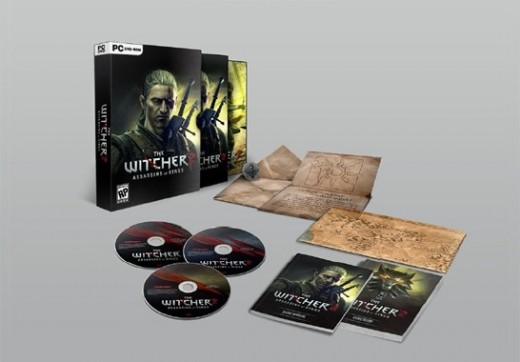 The Witcher 2 Premium Edition contents. This is possibly the best standard edition of a game ever released!
