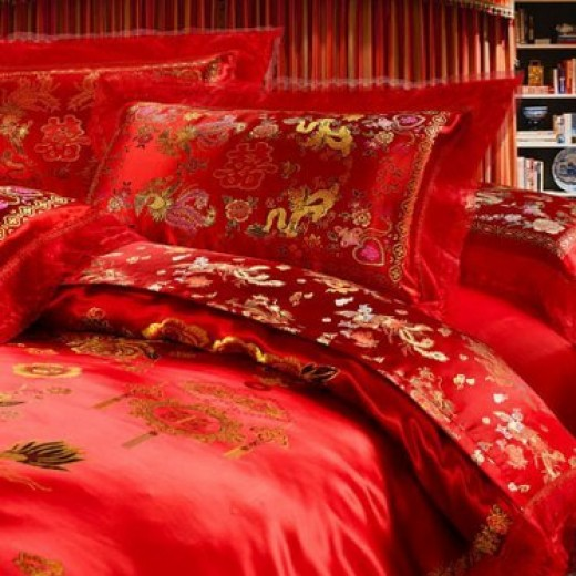 Oriental Duvet Covers with Dragon Motifs