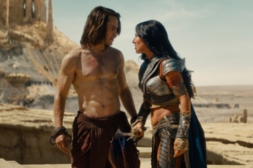 In John Carter of Mars With Lilly Collings Aka Mrs. Strait