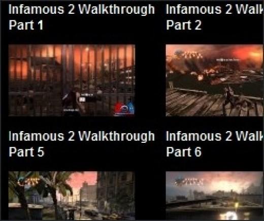 Infamous 2 Walkthrough Videos on GamerFuzion
