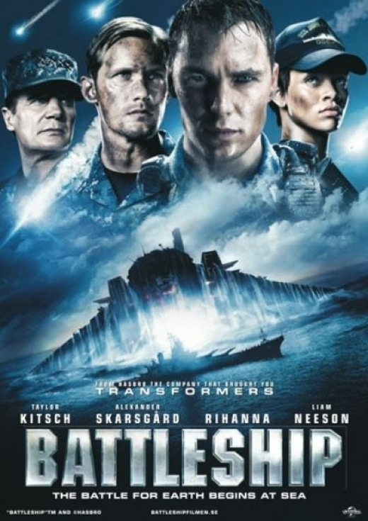 alternative Battleship poster