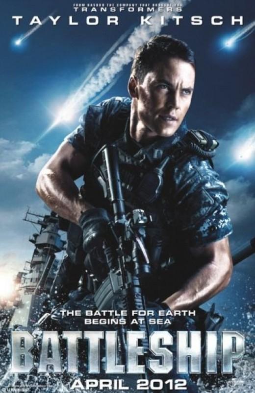 Taylor's Battleship Poster