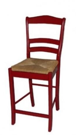 Rush Seat Bar Stools