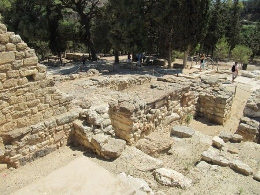 Palace of Knossos (Cnossos?)